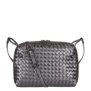 Bottega Veneta Metallic Nodini Intrecciato Bag